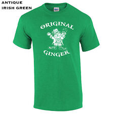 270 Original Ginger Mens T-Shirt st pattys day clover drink college leprechaun #