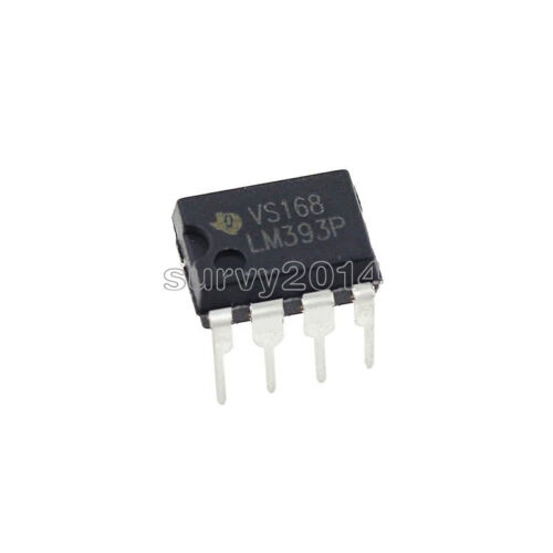 50PCS IC LM393 LM393N LM393P TI//ST//NS DIP-8 NEW GOOD QUALITY