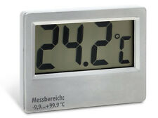 Fernthermometer groß Jumbo-Display -10°C bis 100°C Kabellänge: 5m digital LCD