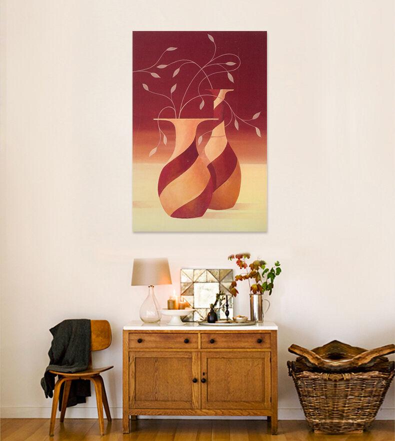 3D Einfache Rote Vase Blaumen 97 Fototapeten Wandbild BildTapete AJSTORE DE Lemon