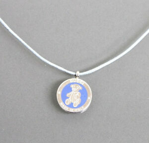 ea6b94e6d Image is loading New-Gucci-Sterling-Silver-Teddy-Bear-Pedant-Necklace-