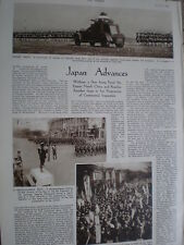 Photo article Japan army enters North China 1935