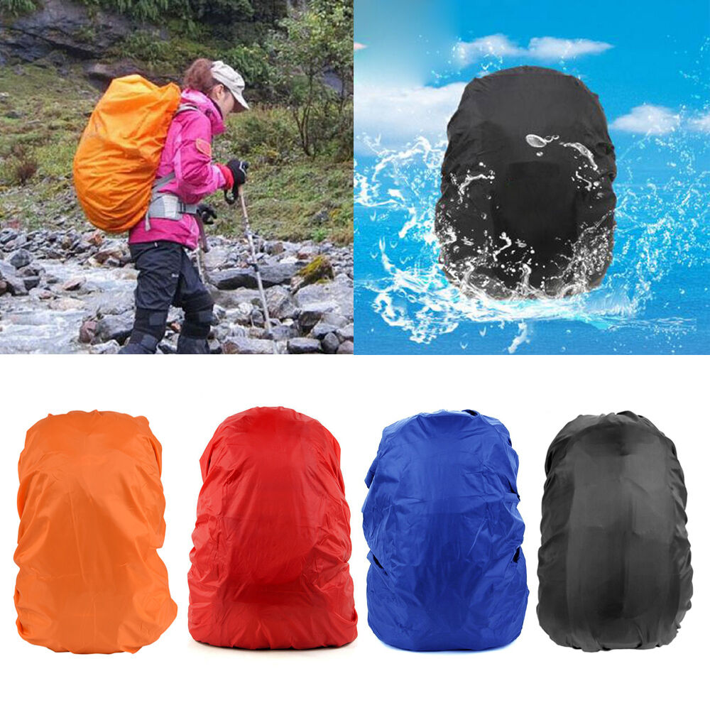 30-40L Waterproof Backpack Rucksack Rain Dust Cover Protector for Camp... - s l1600