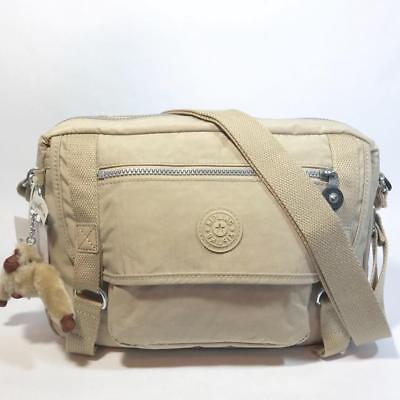 Kipling Gracy Crossbody Shoulder Bag Solid Tan Khakiearth Hb6260 for ... 77c55e10f3495