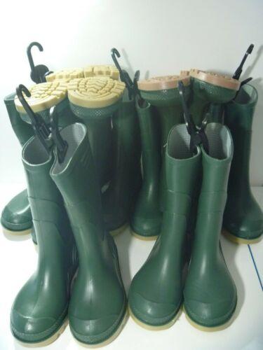 Green Wellies Wellington Bottes Unisexe Garçons Filles Neuf Taille UK 11 NEW