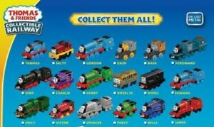 Details about FISHER-PRICE THOMAS AND FRIENDS ADVENTURES COLLECTIBLE DIE  CAST RAILWAY ASSORT