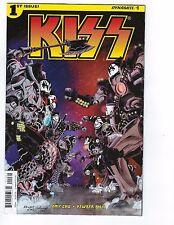 Dynamite KISS Vol 3 #1 Fernando Ruiz Adult Coloring Book Variant NM
