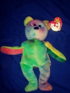 Image is loading Ty-Garcia-beanie-baby-style-4051-born-8- 45089783087