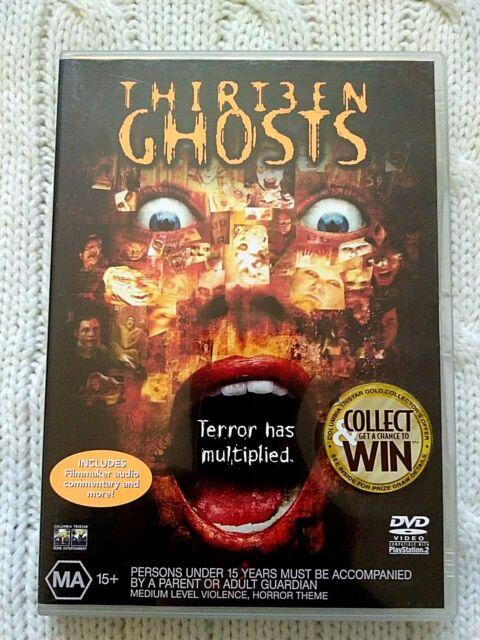 THIRTEEN GHOSTS - DVD-REGION-4-LIKE NEW-FREE POST IN AUSTRALIA
