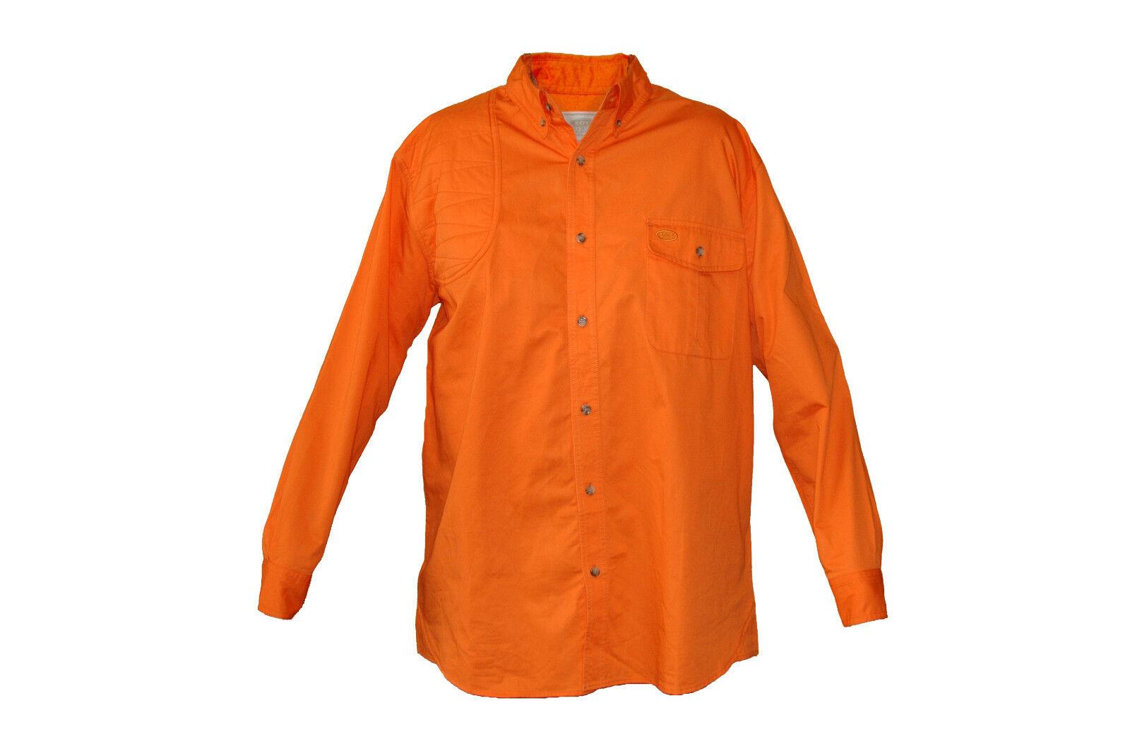 Boyt Harness LS Upland Scout Hunting Shirt Blaze Orange Big Game Upland Bird New