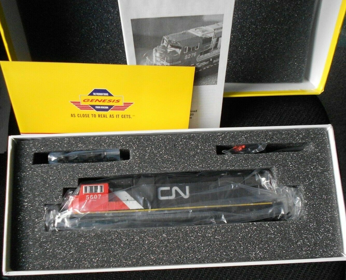 Locomotora SD701 nacional canadiense-Athearn Genesis  G6131 Calibre HO Nuevo En Caja