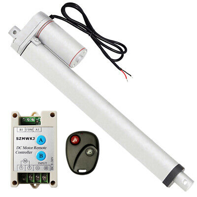 "Linear Actuator 10/"" 12V Multi-function 330lbs Electric Motor/&Wireless Controller"