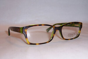 241f6aa4ec88 Image is loading NEW-COACH-EYEGLASSES-BROOKLYN-HC-6040-TORTOISE-GREEN-
