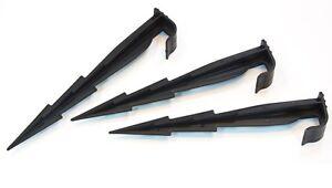 ab-50-Stk-Erdspiess-Steckgabel-Zubehoer-Tropfschlauch-Perlschlauch-Rohr-Perlrohr