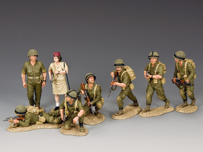IDF -S01 Six -Day War Combo Sett av kung och land