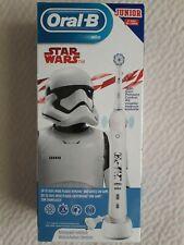 Oral B Junior Star Wars Elektrische Zahnbürste Weiß