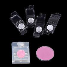 Conjunto de 10 vacía Sombra de Ojos Paleta grado Bandeja de plástico Hazlo tú mismo con 26.5 Caja de Aluminio GK
