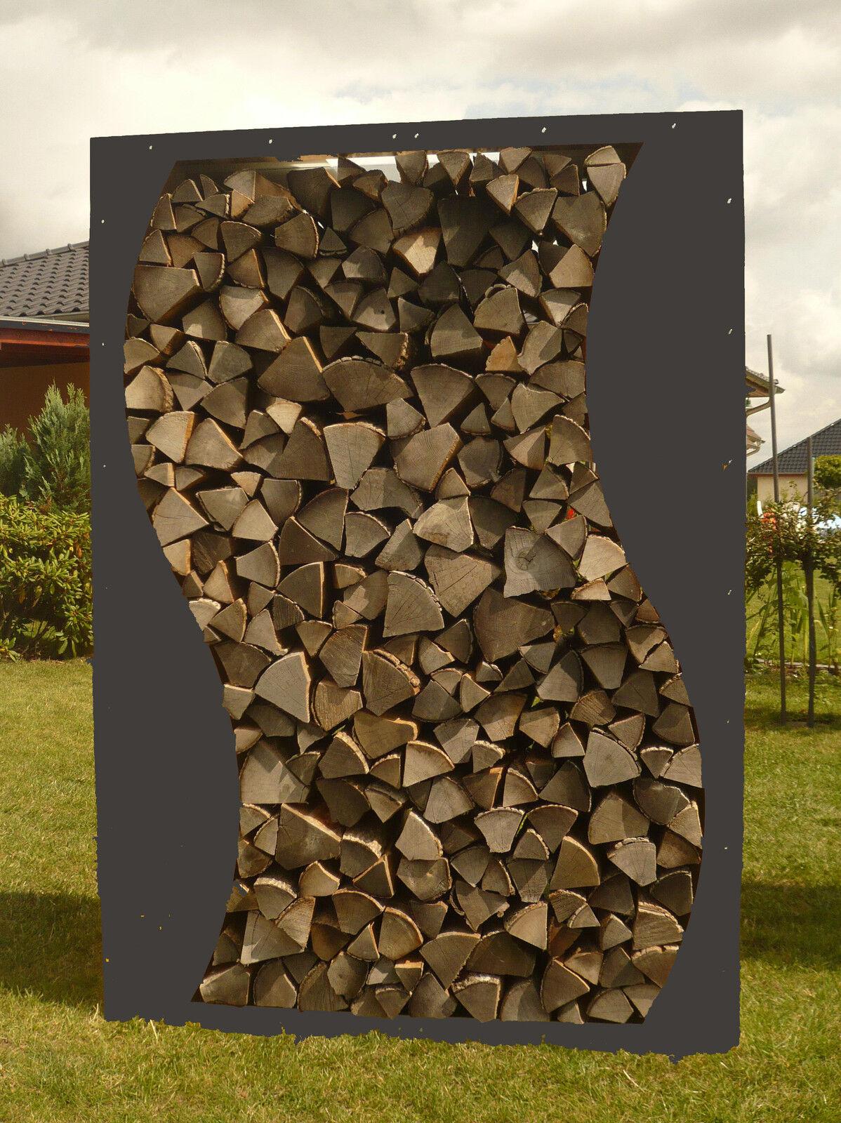 Kaminholzregal WELLE Metall Holzregal Holzlege Holzstapelhilfe Stapelhilfe Holz