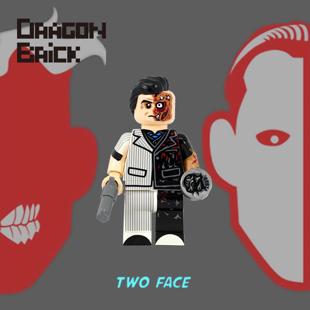 Neu Drache Stein Two Face Lego Minifigur
