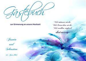 Wedding/ Hochzeit/ Love Hardcover LiebenswüRdig Gästebuch Zur Hochzeit Liebe/ Blume2