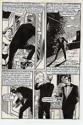 """carte Blanche Pour Oss 117"" (huescar ?) Planche Aredit Page 64"
