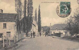 CPA 37 LE PETIT PRESSIGNY