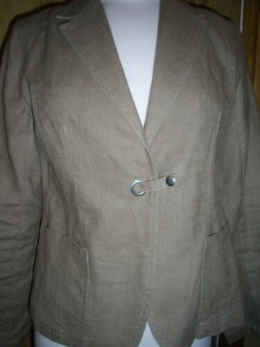 Classic Medium 100 Alsidig Jacket Størrelse Linen Intown Boxy qwf0OO
