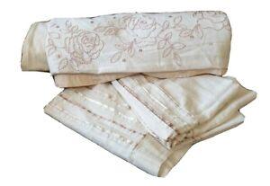Morgan Finch Vtg Linen Blend DB Doona Quilt Cover set Hamptons French provincial