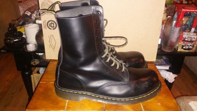 Dr Martens Steel Toe Mens Boots 13M