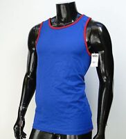 Vans Skate Surfing Core Blue/red Mens T Shirt Tank Top Size Small