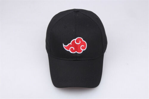 Hot Naruto0 Dad Hat Adjustable Snapback Uchiha Akatsuki Logo Baseball Cap Cotton
