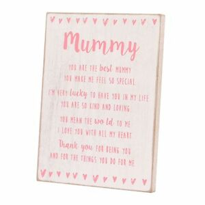 Special-Mummy-Sentiments-From-The-Heart-Freestanding-Wooden-Plaque-Gift