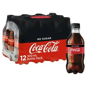 Coca-Cola No Sugar Coke Multipack 300mL 12 pack