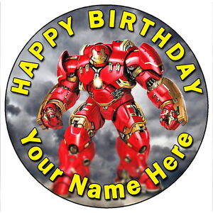 Image Is Loading IRON MAN HULKBUSTER AVENGERS PARTY 7 5 034