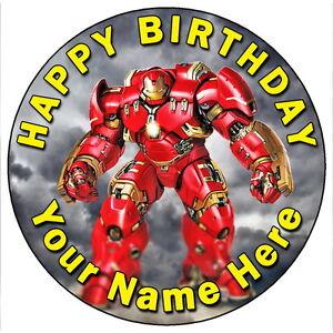 Iron Man Cake Topper Uk