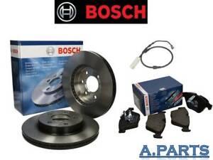 BOSCH-BREMSENSATZ-KOMPLETT-VORDERACHSE-348-mm-MIT-WK-BMW-5ER-F10-F11-Neu