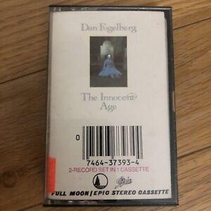 RARE-Dan-Fogelberg-The-Innocent-Age-2-Record-Set-On-1-Cassette-Tape-1980