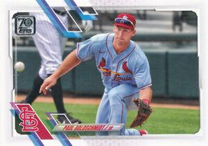 Paul Goldschmidt 2021 Topps Series 1 #229 St. Louis Cardinals