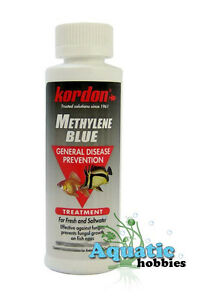 Kordon methylene blue 4oz 118ml general disease prevention for Methylene blue for fish