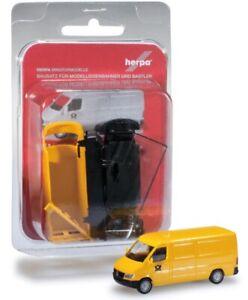 Herpa-012577-minikit-mercedes-Benz-Sprinter-recuadro-039-post-039-1-87-h0