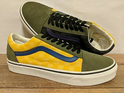 Vans New Old Skool OTW Rally CheckerMultiDeep Lichen Men Size USA 9 EUR 42 | eBay