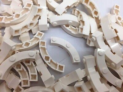 LEGO 48092-4 Light Grey Quarter Circles Per Order NEW