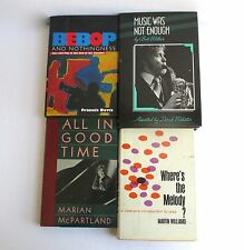 Lot of Hardback History of Jazz and Bebop Music Books Instant Collection Library