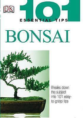 """AS NEW"" 101 Essential Tips: Bonsai, Tomlinson, Harry, Book"