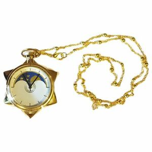 Sailor-Moon-20th-Anniversary-Crystal-Star-Pocket-Watch-Necklace-Pendant-Cosplay