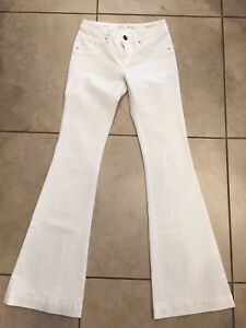 Dl1961 Joy White 26 4 Stretch 360 Jeans Degree High Sz Flare Comfort 71Zwq7
