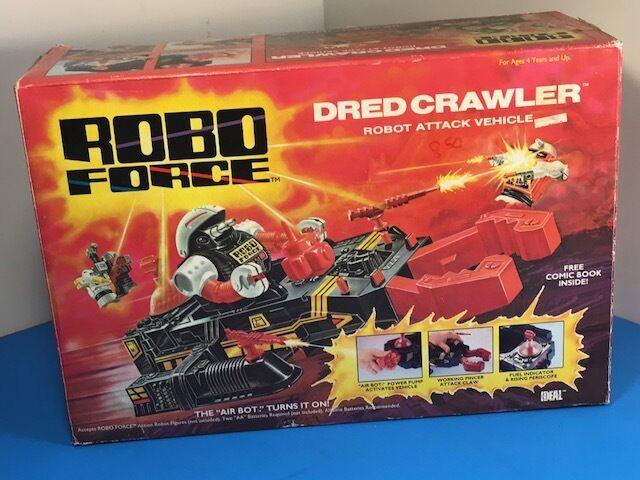 grandes ahorros ROBOFORCE robo Force 1984 Ideal Drojo Crawler temible tanque tanque tanque de vehículo de ataque nuevo en caja caja  envío rápido en todo el mundo