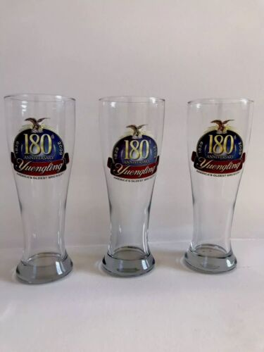 YUENGLING Brewery 180th Anniversary Beer Glass 2009
