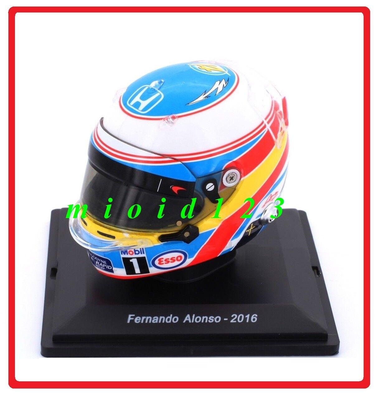 2017-Fernando Alonso  arai gp6 - 1 5 - [HELMET-Helmet]