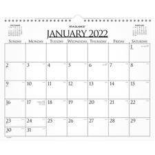 At A Glance Business Wall Calendar 15 X 12 Jan Dec 997 1 22 Wall